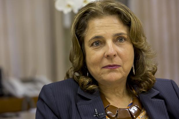 Reitora da UnB, Prof. Márcia Abrahão.